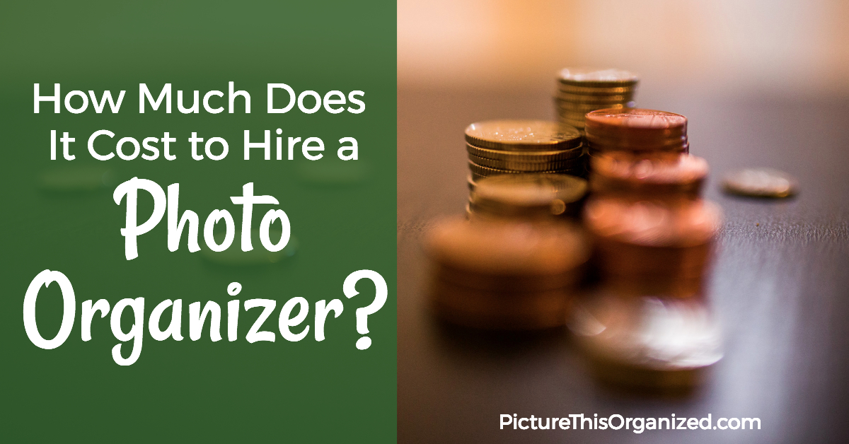 How Much Does It Cost To Hire A Photo Organizer
