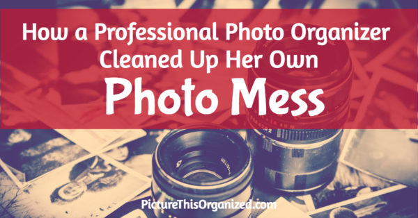 How a Professional Photo Organizer Cleaned Up Her Own Photo Mess