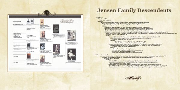 how to tell your family history in a keepsake photo album