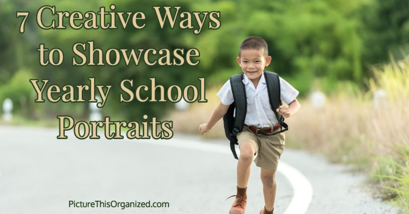 7 Creative Ways To Showcase Yearly School Photos Picture This