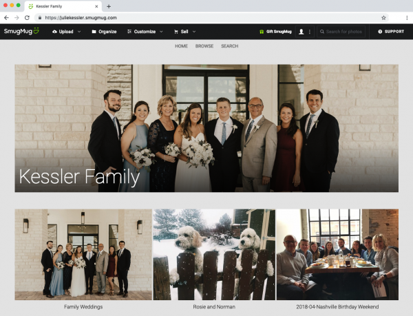 How We Can Help You Build a Top-Notch Family Photo Website
